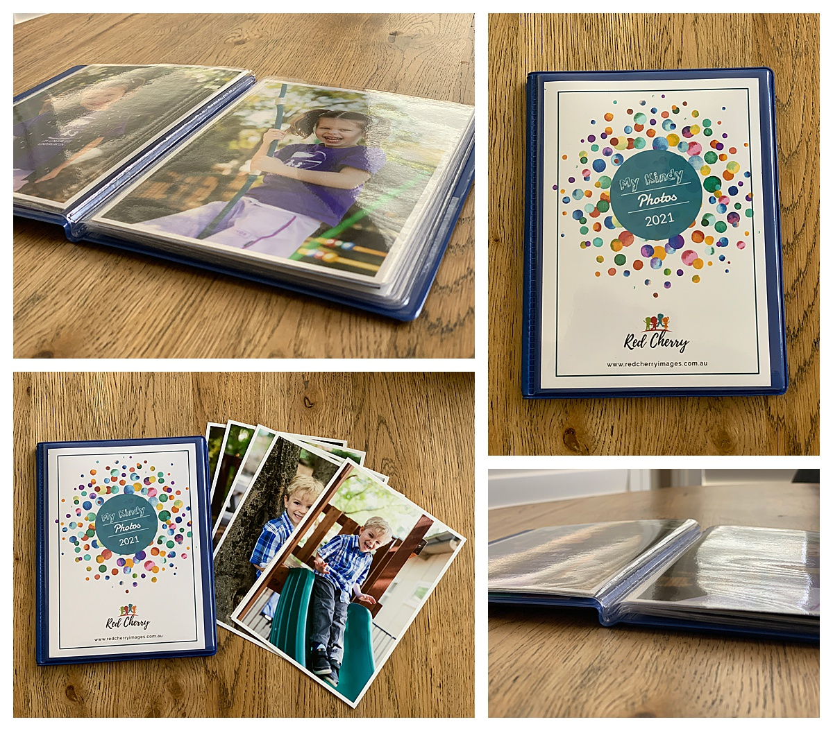 Kinder Keepsake albums